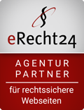 Siegel eRecht24 Agentur Partner